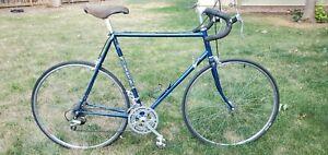"1981 710 Vintage Silver Brazed Trek  Bike 61cm 24"" Full 531DB Made in USA."