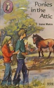 Ponies In The Attic By Irene Makin Paperback