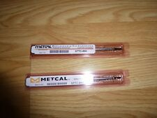Metcal STTC-890 Chisel High Power Soldering Tip NEW SET OF 2