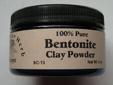 Bentonite Clay Powder 3 oz. Tub 100% Pure - The Elder Herb Shoppe