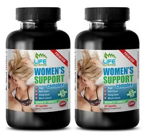 Menopause pills for women - WOMENS SUPPORT COMPLEX - digestive health 2 Bottles