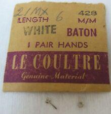 Genuine Omega Hour & Minute Hands 428 21 mx White 6 mm
