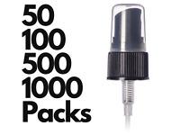 20/410 Fine Mist Sprayer Caps in Black   Fine Mist Sprayer   20 410 Spray Cap