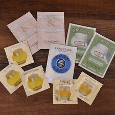 10 Loccitane Immortelle Divine Cream Neroli & Orchidee Amande Lotion Sample Lot