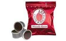 100 CAPSULE CAFFE' BORBONE MISCELA ROSSA COMPATIBILITA' ESPRESSO POINT