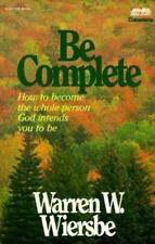 Be Complete (Be Series), Wiersbe, Warren W., 0896937267, Book, Acceptable