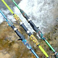 Fishing Rod Spinning Bait Casting Lure Carbon Travel Size Pole 1.8M 1.5M Tackle