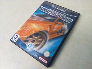 NEED FOR SPEED UNDERGROUND, PAL, COMPLETE, NINTENDO GAMECUBE GAME