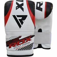 RDX Boxing Bag Gloves Mitts Hand Pads for MMA Muay Thai Kickboxing MMA