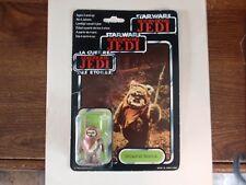 Star Wars Rare Vintage Wicket W Warrick Figure Unopened 1983 Tri-logo Jedi