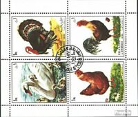 Sharjah 1190-1193 Sheetlet (complete issue) used 1972 Birds