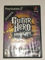 Guitar Hero Smash Hits PS2 PlayStation 2 Video Game Complete Tested & Working