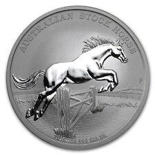 Australia $ 1 Stock Horse 2015 1 oz .999 Silver Coin (w/COA)