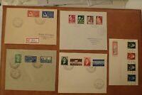 Norwegen Briefmarken Stamps 5 Times FDC German Occupation , Deutsche Besatzung