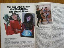 1984 TV Guide (V/JANE BADLER/SHARI  BELAFONTE-HARPER/GRETA  SCACCHI/MARC SINGER)