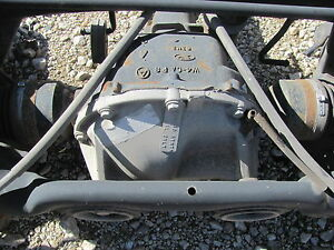 2000-2001-2002 LINCOLN LS V6 3.0 REAR DIFFERENTIAL