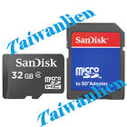 SanDisk 32GB 32G Class4 Micro SD SDHC MicroSDHC Card TF + ADAPTER