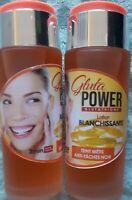 lotion blanchissante extrait de soja acide lactique anti rougeurs taches acné