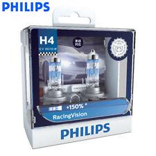 2X Philips H4 9003 HB2 RacingVision +150% Brighter 12342RV Bulbs, US Warehouse