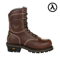 GEORGIA AMP LT LOGGER CT WATERPROOF 600G INSULATED WORK BOOTS GB00262 *ALL SIZES