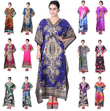 New Digital Dress Kaftan, Free Size Maxi Gown, Causual Wear Dress Boho Caftan