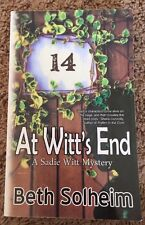 At Witt's End A Sadie Witt Mystery by Beth Solheim Northern MN Mystery PB 2010