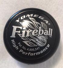 Vintage yomega Fireball Yoyo High Performance Black