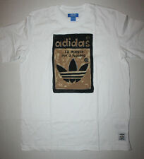 Adidas X Nigo Artist Superstar Tongue Tee AJ5205 Men's Medium (M) White/Gold/Blk