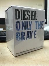 Diesel Only The Brave 125 ml / 4.2 Oz Eau de Toilette Perfume Men Genuine New