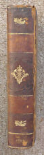 1806 hardbound leather PLAYS OF WILLIAM SHAKESPEARE edited by Manley Wood vol 10