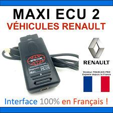 MaxiECU 2 + MPM-COM - Valise Diagnostic RENAULT - CLIP Valise Diag Can