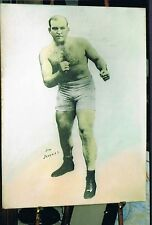 OLD RARE JIM JEFFRIES 30x40 large format boxing photo1899 World Champion boxer