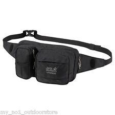 Jack Wolfskin Upgrade Travel Hip Belt Bum Bag - Black