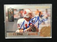TRENT DILFER 1994 CLASSIC AUTOGRAPHED SIGNED AUTO FOOTBALL CARD R7 BUCCS