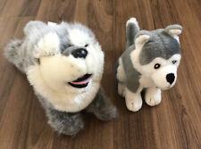 Husky Dog Plush Soft Toy Bundle