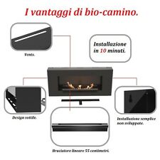 Camino bioetanolo  NUOVA LINEA SUPER FLAT BRUCIATORE 55 cm.  HIT 2014 !!!