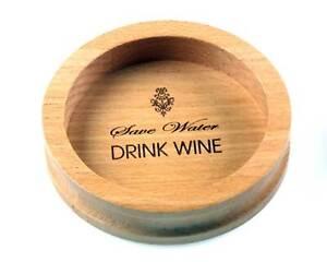 Personalised Engraved Wooden Wine Bottle Coaster