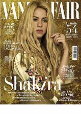 Vanity Fair Magazine Italy Shakira Naomi Watts Ariana Grande NEW