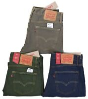 Levis 511 Men's Slim Fit Ripped Denim Jeans Choose Color & Size
