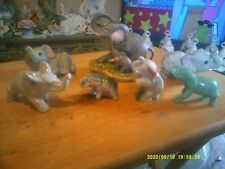 Lot of 7 Elephants. Includes 3 Homco elephants. All in Great Condition