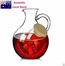 Glass Red Wine Carafe Wine Decanter Water Jug Juice Jug 800ml