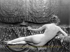 "Nude Woman from Behind 8.5x11"" Photo Print, Silent Film Eleanor Boardman Genthe"