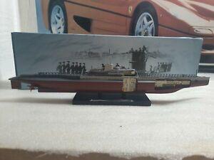ATLAS EDITIONS / WW2  - 1942 SURCOUF - SMALL SCALE MODEL - U BOAT COLLECTION