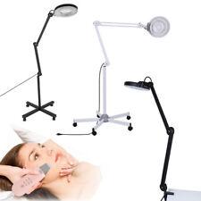 Profi LED Lupenleuchte Lupenlampe 5 / 8 Dioptrien Standlupe Kaltlicht Kosmetik