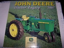 2007 THE JOHN DEERE TRACTOR LEGACY CALENDAR BY VOYAGEUR PRESS BRAND NEW