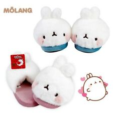 Molang Cute Rabbit Home Indoor Fluffy Cozy Slippers Free Shipping! US8 Size