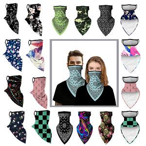 Ear Hanging Bandana Multi-use Face Cover Scarf Face Mask Unisex Bandanna Snood
