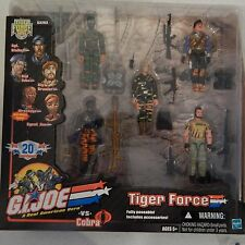 GI JOE  2003 TIGER FORCE ~ AGENT JINX, WRECKAGE, BIG BRAWLER, STALKER, DIAL TONE