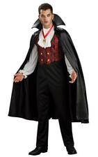 Dracula Transylvanian Vampire Costume Adult Mens Halloween Count Gothic Outfit