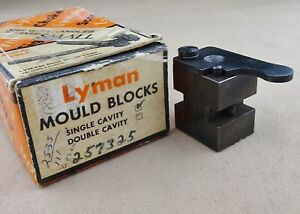 Lyman No.257325 Gas Check Round Nose Bullet Mould | Target Rifle